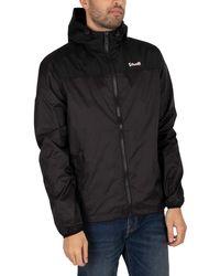 Schott Nyc Impermeable Light Weight Jacket - Black
