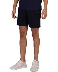 GANT Original Sweat Shorts - Blue