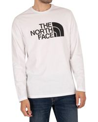 The North Face Longsleeved Half Dome T-shirt - White