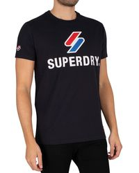 Superdry Sportstyle Classic T-shirt - Blue