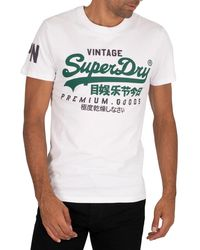 Superdry Graphic T-shirt - White