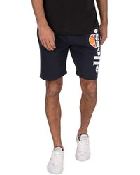 Ellesse Bossini Fleece Sweat Shorts - Blue