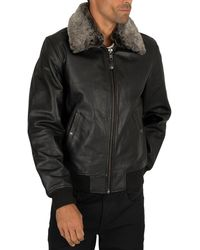 Schott Nyc Leather Jacket - Black