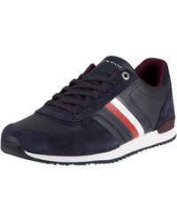 Tommy Hilfiger Iconic Mix Runner Sneakers - Blue