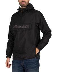 Ellesse Exclusive Mono Mont Pullover Jacket - Black