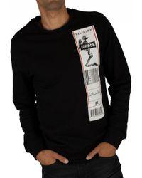 Religion Black/white Patch Sweatshirt