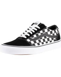 Vans Black/true White Ward Chequered Trainers