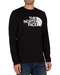 The North Face Half Dome Longsleeved T-shirt - Black