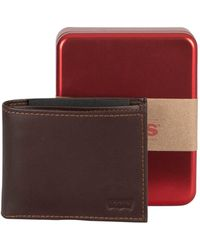 Levi's Casual Classics Leather Wallet - Brown