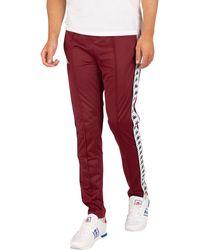 Kappa 222 Banda Astoria Slim Sweatpants - Red