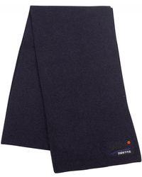 Superdry - Eclipse Navy/black Grit Orange Label Scarf - Lyst