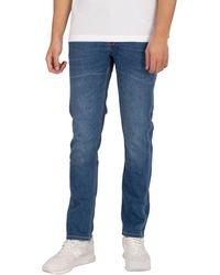 Luke 1977 Vacuum Slim Tapered Jeans - Blue
