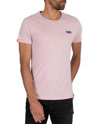 Superdry Vintage Emb T-shirt - Pink