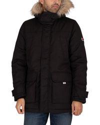 Tommy Hilfiger Tech Parka Jacket - Black