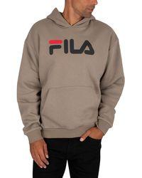 Fila Axelo Classic Logo Pullover Hoodie - Multicolour