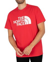 The North Face Half Dome T-shirt - Red