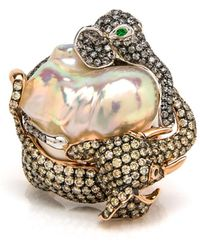 Wendy Yue | Elephant Pearl Ring | Lyst