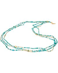 Yossi Harari - Mix Wrap Turquoise Necklace - Lyst