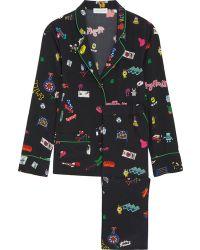MIRA MIKATI | Printed Silk Pajama Set | Lyst