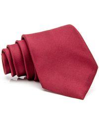 RVR | Wine Textured Stripe Tie | Lyst