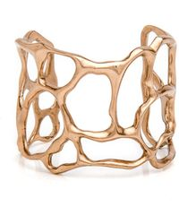 Julie Cohn   Small Bronze Coral Cuff   Lyst