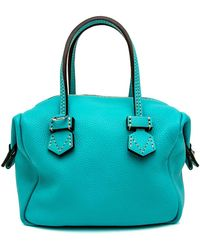 Moreau Mini Vincennes Top Handle Bag In Island Blue