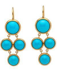 Darlene De Sedle | 4 Turquoise Stone Earrings | Lyst