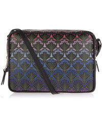 Liberty Dusk Iphis Maddox Cross Body Bag - Purple