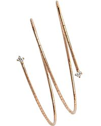 Mattia Cielo - Rose Gold Rosata 3 Coil Bracelet - Lyst