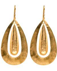 Darlene De Sedle - Dual Teardrop Earrings - Lyst