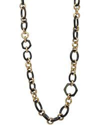 Ashley Pittman - Shauri Dark Horn Necklace - Lyst