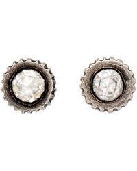Yossi Harari - Lilah Rose Cut Diamond Stud Earrings - Lyst