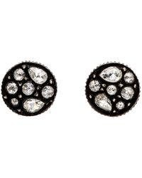 Yossi Harari - Sara Rose Cut Diamond Stud Earrings - Lyst