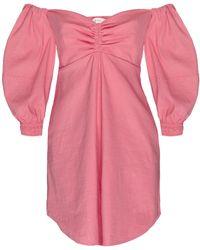 A.L.C. - Lychee Mila Off The Shoulder Mini Dress - Lyst
