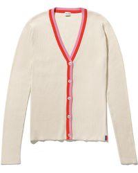 Kule The Tommi Cardigan In Cream - Multicolor