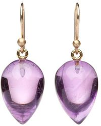 Ted Muehling - Amethyst Acorn Earrings - Lyst