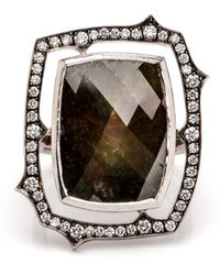 Sylva & Cie - Rough Cut Diamond Ring - Lyst