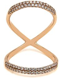 Loree Rodkin - Double X Diamond Ring - Lyst