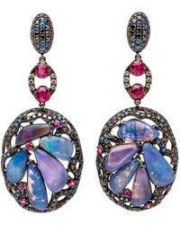 Wendy Yue - Opal Cluster Earrings - Lyst