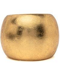 Monies - Gold Leaf Cuff - Lyst