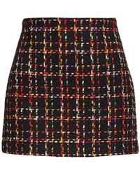 Alice + Olivia Elana Mini Skirt - Black