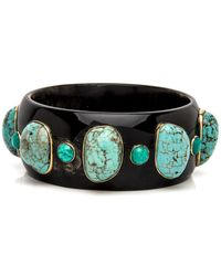 Ashley Pittman - Michezo Dark Horn Bangle - Lyst