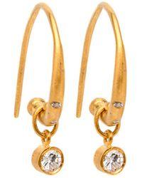 Yossi Harari - Reyna Diamond Hoop Earrings - Lyst