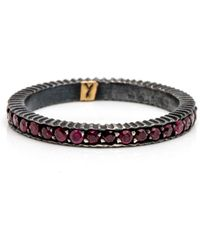 Yossi Harari - Lilah Ruby Pave Ring - Lyst