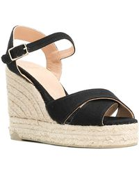 Castaner - Black Blaudell Wedge Sandals - Lyst