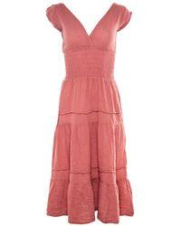 Felicite - Vintage Red Smocked Dress - Lyst