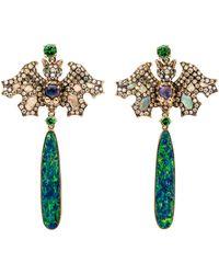 Wendy Yue | Opal Dangle Bat Earrings | Lyst