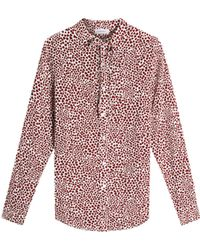 Anine Bing - Hearts Holly Blouse - Lyst