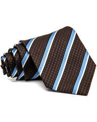 2b3c73db Ermenegildo Zegna Pre-tied Faille Bow Tie in Black for Men ...