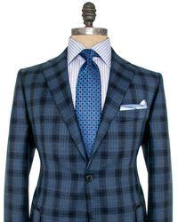 Belvest - Blue Plaid Sportcoat - Lyst